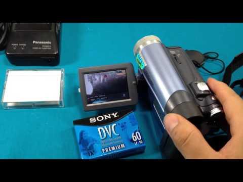Panasonic Mini DV Camcorder 24X Optical Zoom-800X PV-GS9