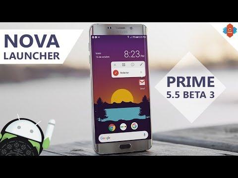 Nova launcher prime 5 0 beta
