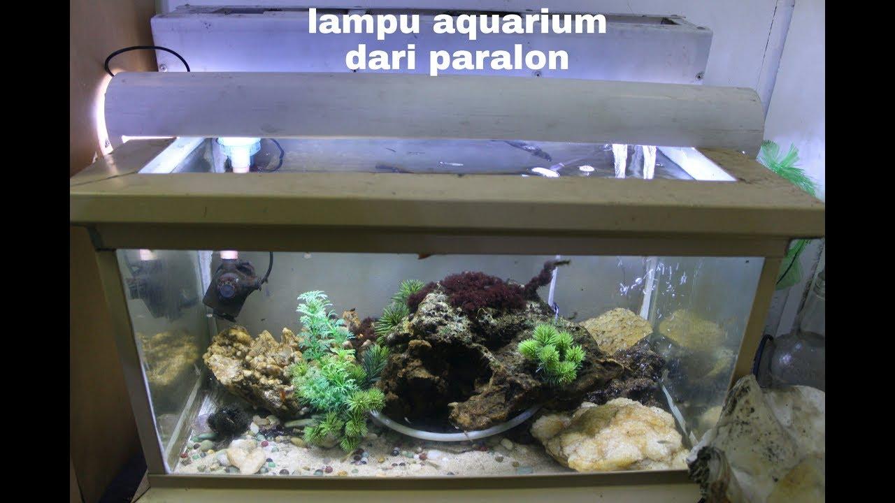Cara Membuat Lampu Aquarium Dari Paralon Youtube Membuat lampu aquarium sendiri