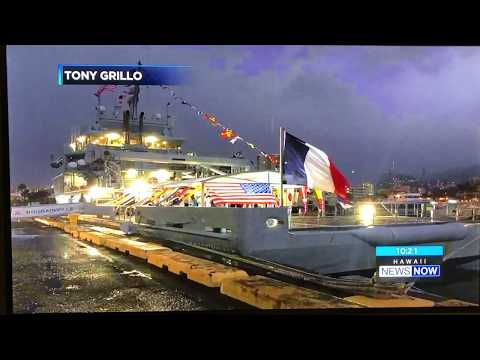 KGMB News - Hawaii News Now - FNS Bougainville in Honolulu - Nov 12, 2017