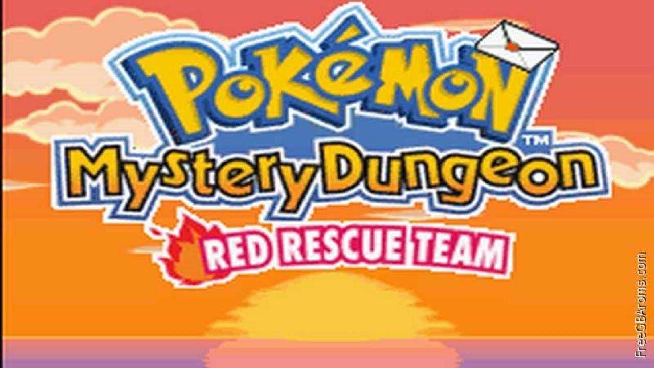 Box Artwork For Pokémon Mystery Dungeon Blue Rescue Teokémon Red Team