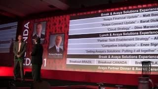 Roberto Ricossa - Avaya Executive Partner Forum 2013