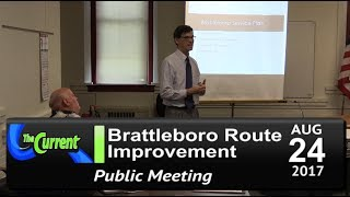 The Current - Brattleboro Bus Route Improvement Public Mtgs 8/24/17