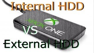 Xbox One Internal vs External Hard Drive