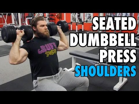 Seated Dumbbell Press | Shoulders | How-To Exercise Tutorial