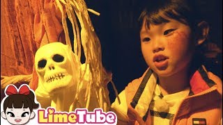 할로윈 Trick or treat 주렁주렁  애니멀 테마파크 indoor playground for kids family funny halloween