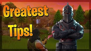 6 TIPS TO HELP YOU BECOME A FORTNITE GOD! HOW TO IMPROVE & GET BETTER AT FORTNITE! Fortnite Tips!
