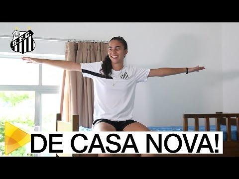 Santos FC inaugura novo dormitório para o Futebol Feminino
