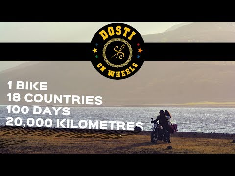 20,000 kms on a motorcycle across Europe - Dosti On Wheels
