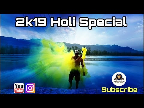 2019 - HOLI SPECIAL || DANCE × WORKOUT || URI - CHALLA   || Sandeep Kandiyal Fitness Freak