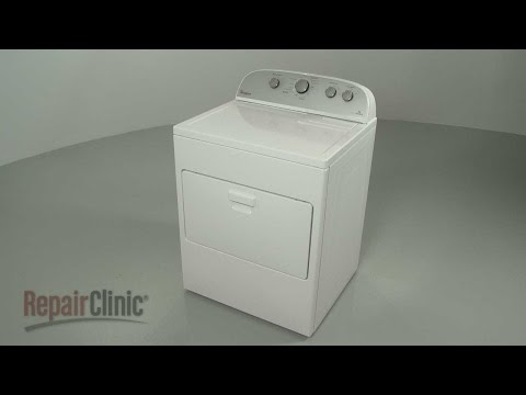 Whirlpool Electric Steam Dryer Disassembly