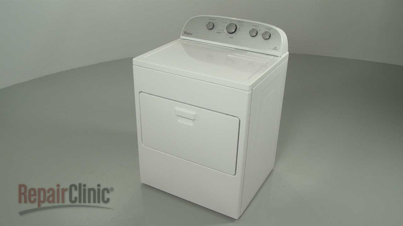 whirlpool electric steam dryer disassembly dryer repair help [ 1280 x 720 Pixel ]