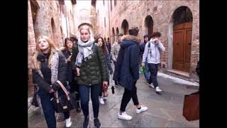 video CULTURAL EXCHANGE 2018 4AT e 4BT San Miniato