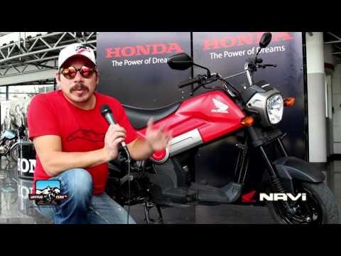 Honda NAVI, Moto Review. Latitud Cero TV