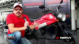 Honda NAVI, Moto Review. Latitud Cero TV