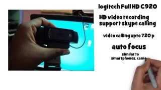 logitech pro HD webcam c920 quick review by tamil mobile reviews
