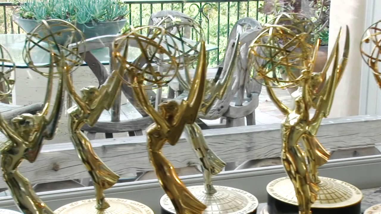 Merv Memorabilia with Tony Griffin- Merv's Emmys