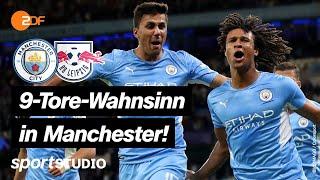 Manchester City – RB Leipzig Highlights   UEFA Champions League   sportstudio