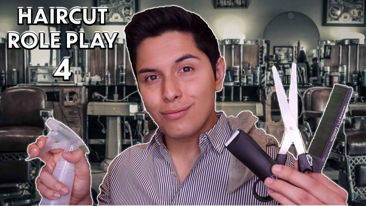 ASMR   Haircut Role Play 4!
