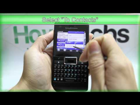How to Transfer the Contacts from SIM Card to Sony Ericsson Aspen