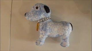 DIY: Watch me craft: KIK Bastelset Hunde Styropor mit Servietten Technik