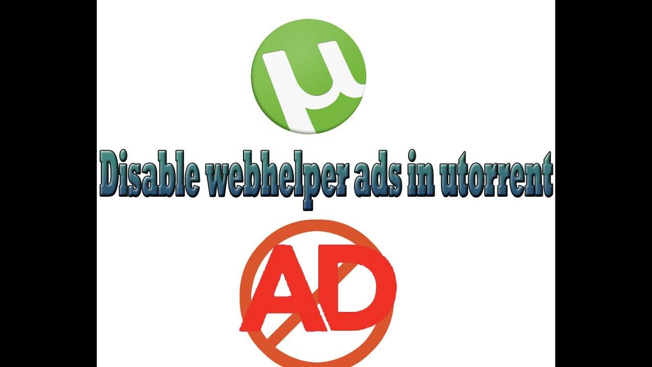 stop utorrent ads
