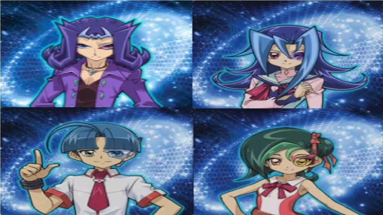 Yu-Gi-Oh Reginald Kastle (Shark) vs Rio Kastle vs Caswell ... Yugioh Zexal Tori And Rio