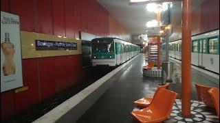 Métro 10 Gare d'Austerlitz-Boulogne Pont de Saint Cloud