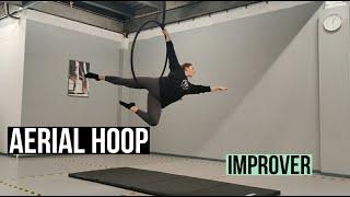 Aerial Hoop Routine Tutorial (Improver Level)   AIR Hoop