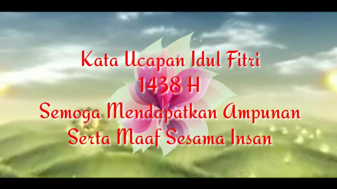 Kata Ucapan Idul Fitri 1438 H Yang Bisa Diambil Copy Paste Di