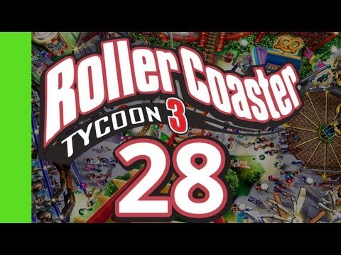 Let's Play Rollercoaster Tycoon 3 - RIDING THE RIDES! #1
