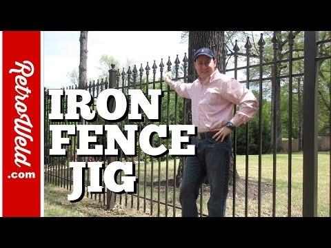 🔴 Iron Fence Jig