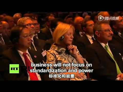 Pasifika Haina bridge - Alibaba Jack Ma speech in Germany 2015