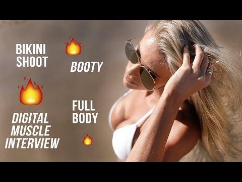 Manhattan Beach Bikini Shoot   Digital Muscle Media   Road to the Arnold - Episode 6