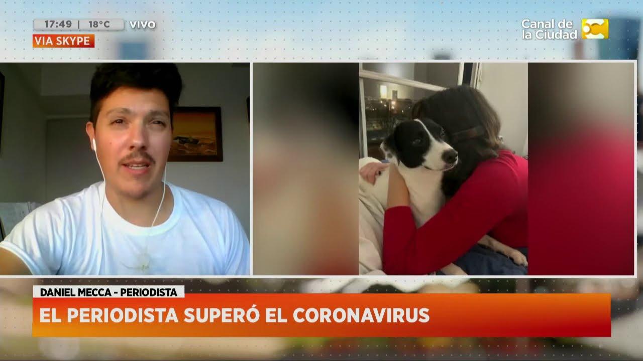 Coronavirus en primera persona: Daniel Mecca, periodista de Clarín en Hoy Nos Toca