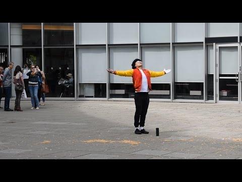 MICHAEL JACKSON DANCE PRANK