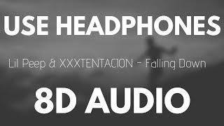 Download Lil Peep & XXXTENTACION - Falling Down (8D AUDIO) Mp3 and Videos