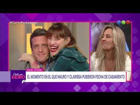Mauro Szeta y su esposa en el diván - Cortá por Lozano 2018