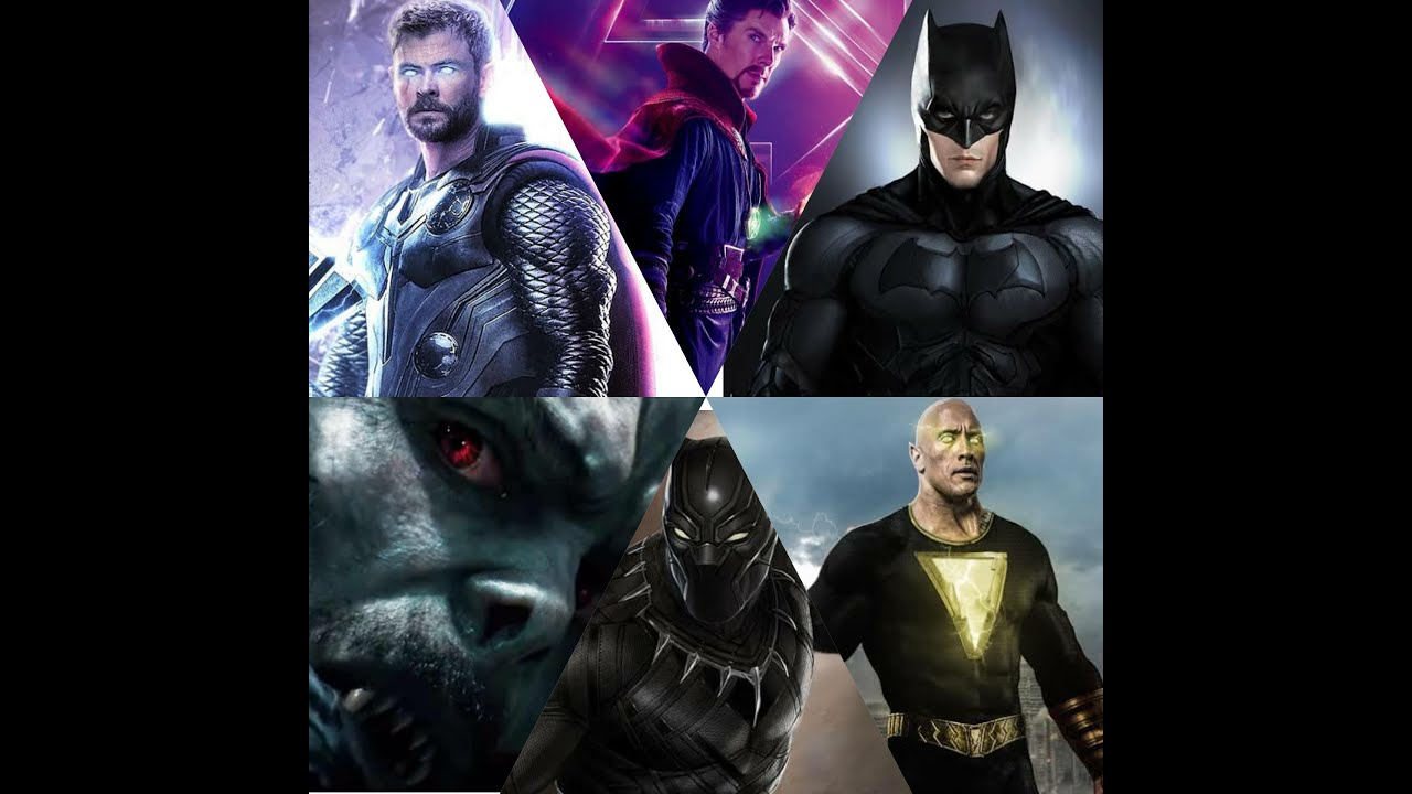 Marvel and dc upcoming movies 2021 - YouTube