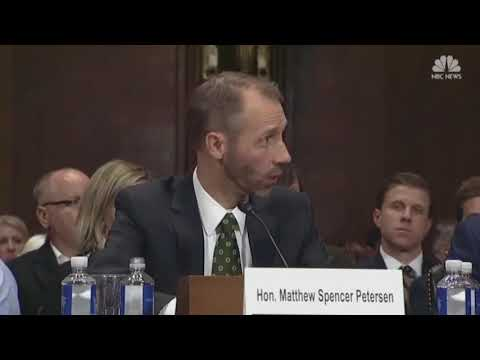 U.S. District Court judge nominee quizzed by senator