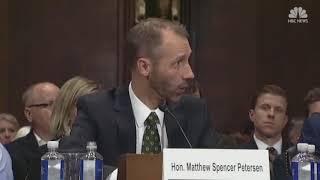 U.S. District Court judge nominee quizzed by senator