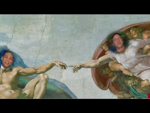 Lemon, Rowe on Sistine Chapel ceiling?