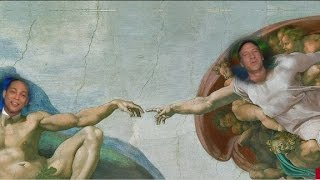 Lemon, Rowe on Sistine Chapel ceiling?