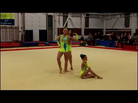 Intra club 2018 - Raphaëlle, Jana et Marine - Québec Performance