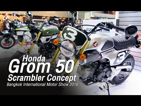 Honda Grom50 - Walk around : The 37 th Bangkok International Motor Show