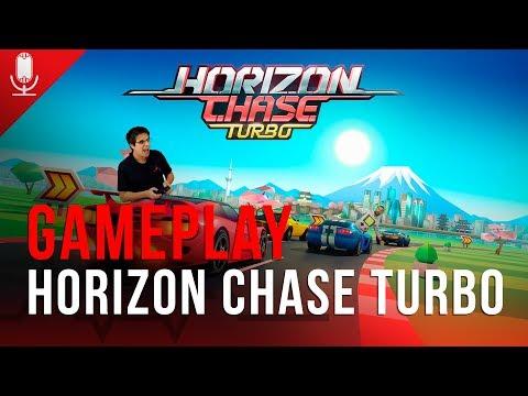 Vamos tentar alcançar o horizonte jogando Horizon Chase Turbo no PC - AO VIVO às 19h