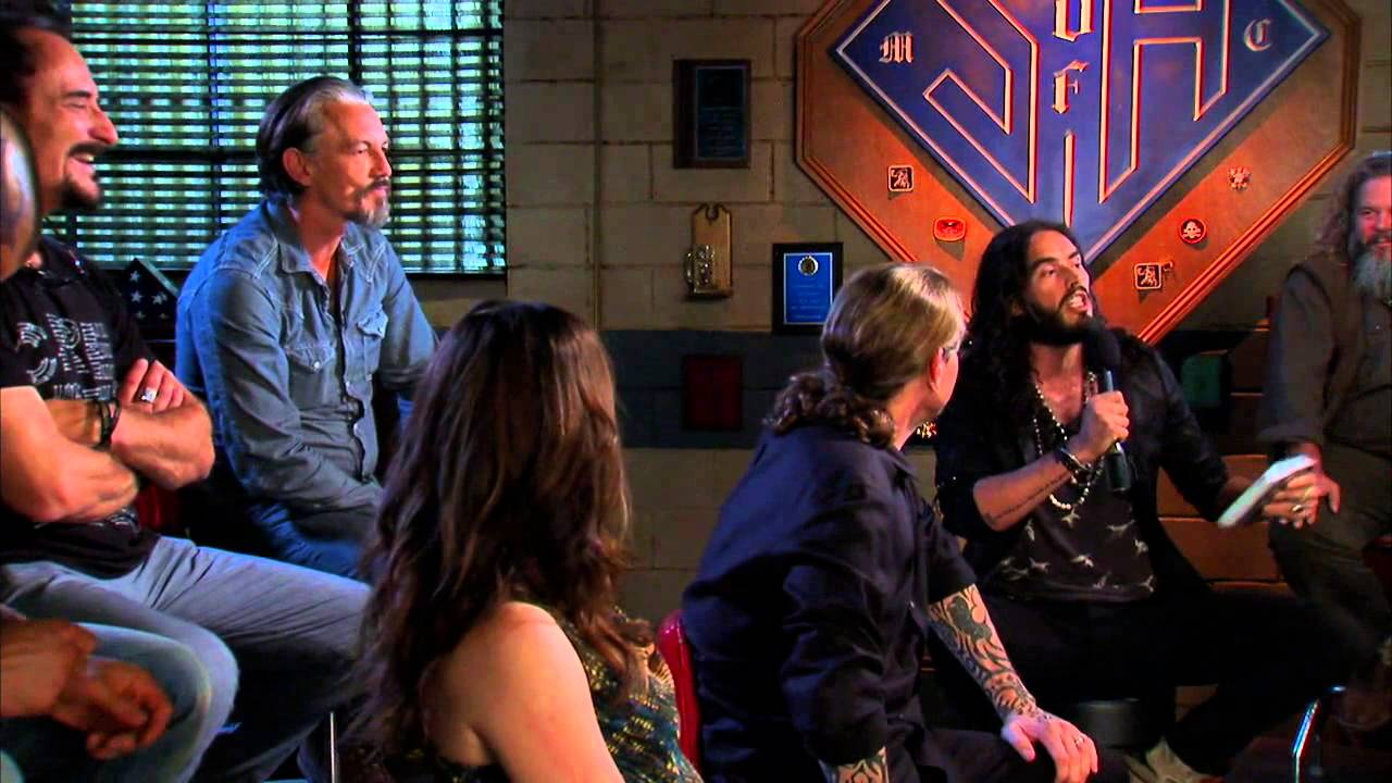 Download Sons of Anarchy cast interviewed by Russell Brand 2012