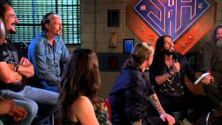 Sons of Anarchy cast interviewed by Russell Brand 2012