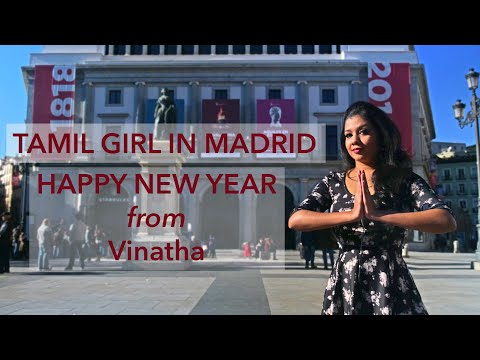 5 Things About Me | Tamil Girl In Madrid | Happy New Year Wishes From Spain | Vinatha Sreeramkumar