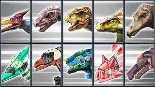 Jurassic World - The Game + Dino Robot Corps #1 | Eftsei Gaming